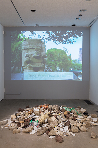 Eduardo Abaroa, Total Destruction of the Anthropology Museum, 2012 - 2017, photograph by Kelly Barrie